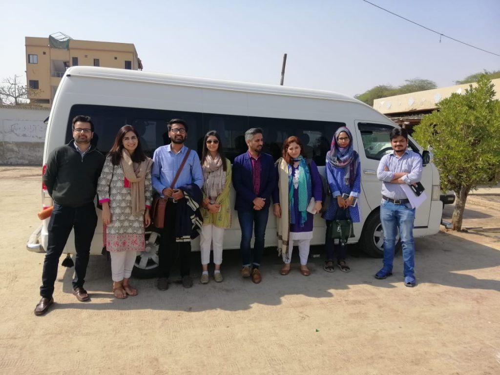 VentureDive met with the Vital Pakistan team on the field