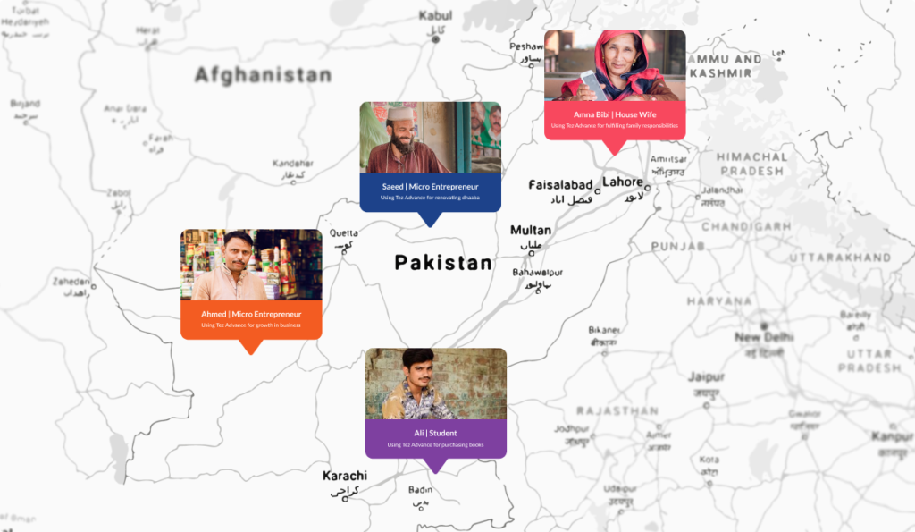 People across Pakistan benefitting from Tez Financial Services app