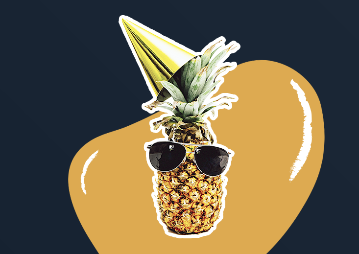 pineapple with sunglasses - on demand services for home maintenance