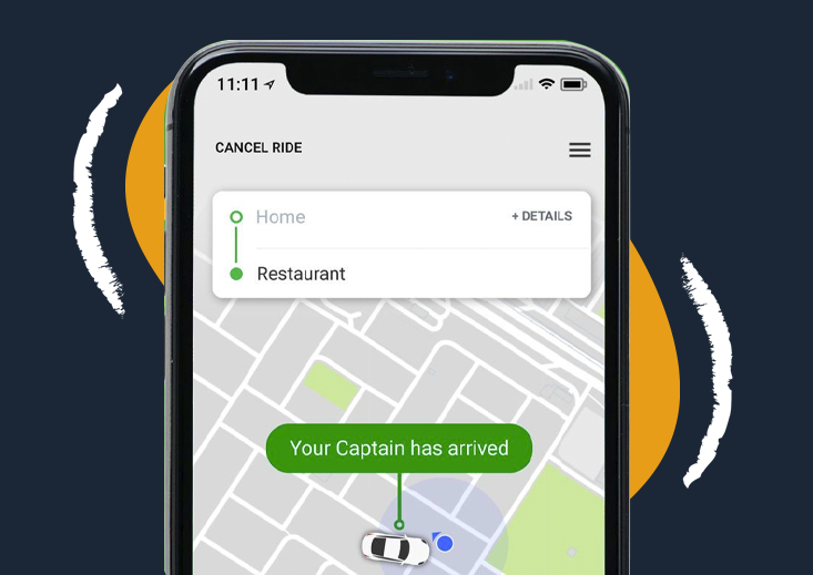 Careem ride - on demand services for ride hailing