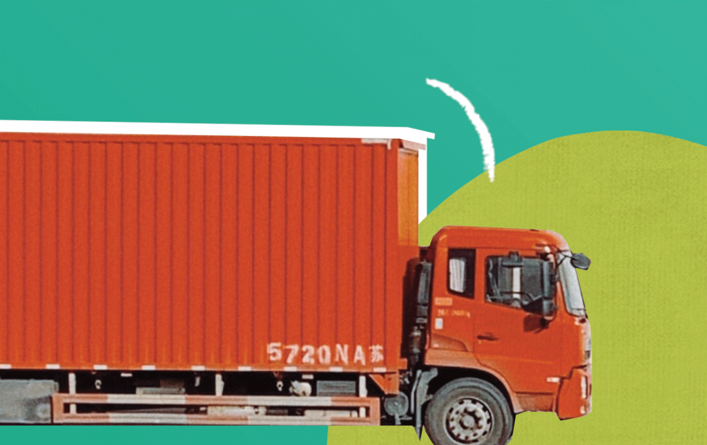 Shipment container - logistics services