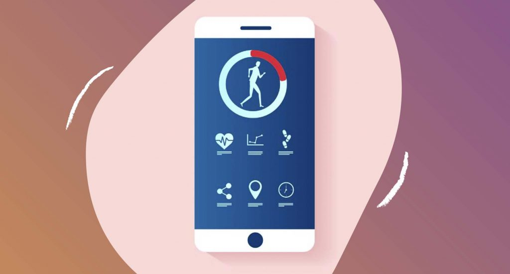 Tracking health through app