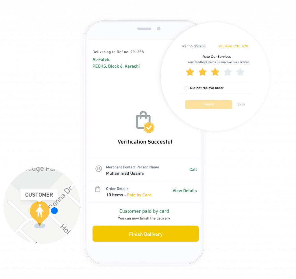 Movanos Pharmacy Delivery Solution: Pharmacist App